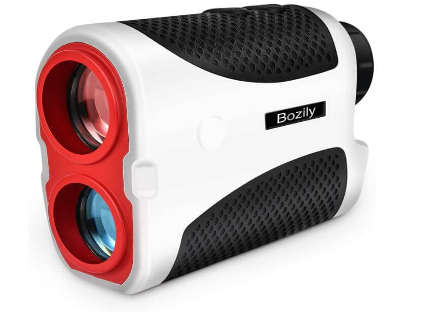 Bozily Golf Rangefinder,Hunting Rangefinder 6X Laser Range Finder 1000 Yards with Slope ON/Off Technology, Fast Flag-Lock, Continuous Scan Support