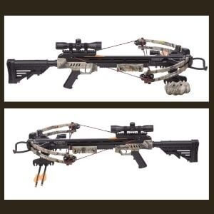 CenterPoint Sniper 370 Crossbow Package, Camouflage