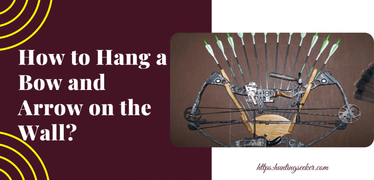 How to Hang a Bow and Arrow on the Wall?