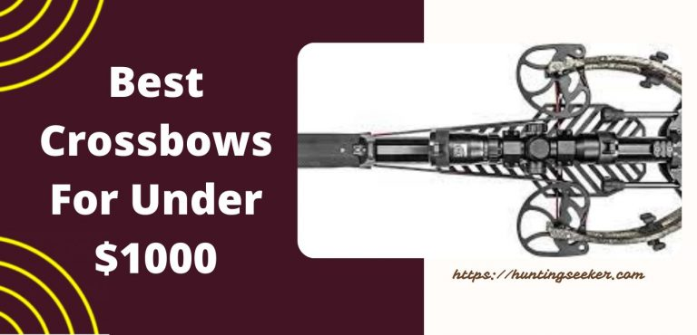 Best Crossbows For Under $1000